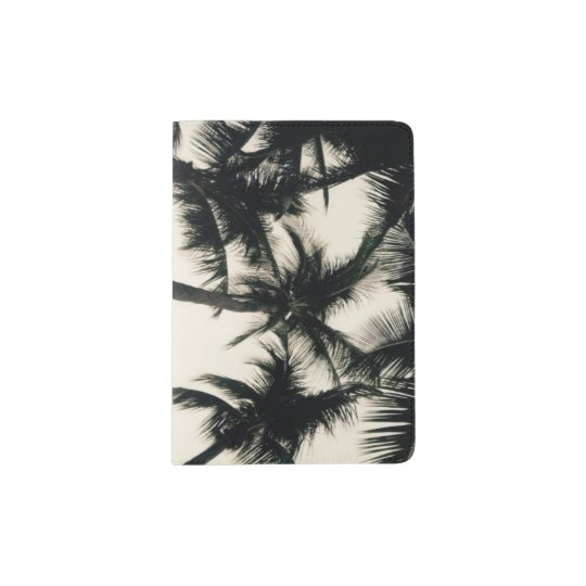 Florida Palm Tree Passport Book Passport Holder