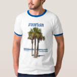 Florida, Palm Trees by Water Shirts