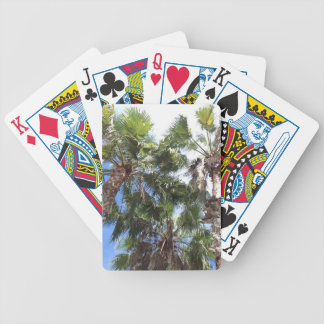 Florida Palms Bicycle Playing Cards