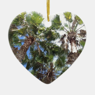 Florida Palms Ceramic Ornament