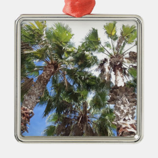 Florida Palms Metal Ornament