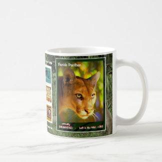 Florida Panthers are endangered animals Coffee Mug