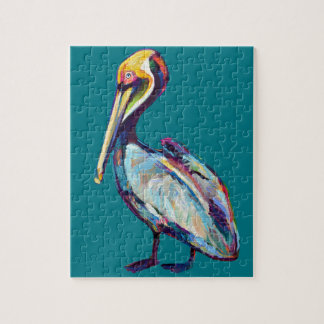 Florida Pelican by Robert Phelps Jigsaw Puzzle