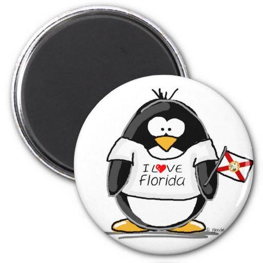 Florida Penguins Fridge Magnet