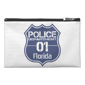 Florida Police Department Shield 01 Travel Accessory Bags