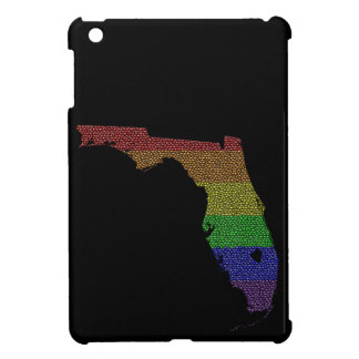 Florida Rainbow Pride Flag Mosaic Case For The iPad Mini