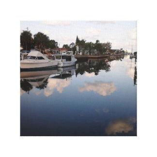 Florida scene canvas print