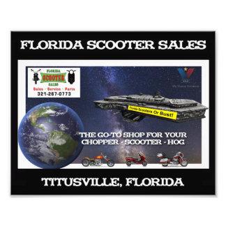 Florida Scooter Sales print Art Photo
