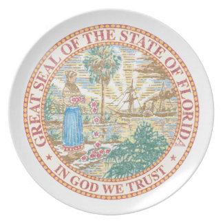 Florida Seal Plate