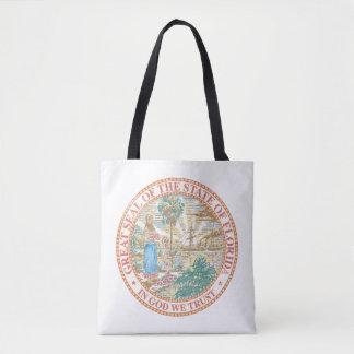 Florida Seal Tote Bag