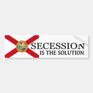 Florida Secession Bumper Sticker