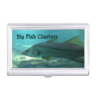 Florida Snook Business Card Cases