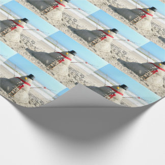 Florida Snowman with Elf Wrapping Paper (3221)