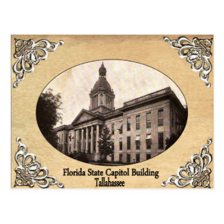 Florida State Capitol Building Old Postcard