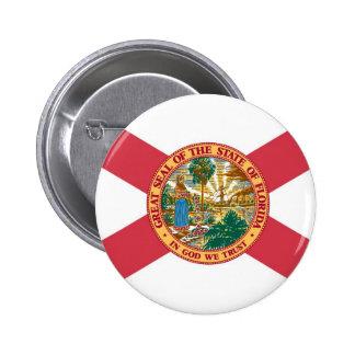 Florida State Flag 2 Inch Round Button