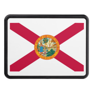 Florida State Flag Design Trailer Hitch Cover