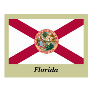 Florida State Flag Postcard