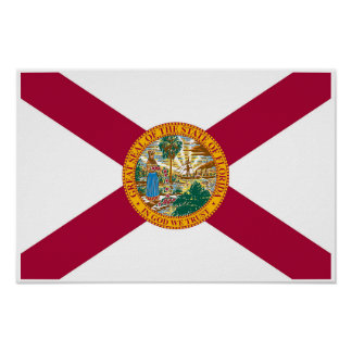 Florida State Flag Poster