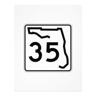 Florida State Route 35 Custom Letterhead