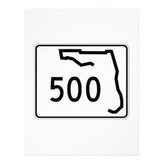Florida State Route 500 Custom Letterhead