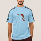Florida State Silhouette Diving Flag T-Shirt