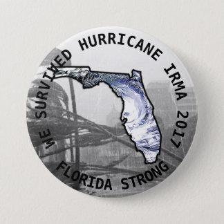 Florida Strong Hurricane IRMA  2017 Button