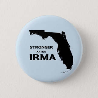 Florida stronger after hurricane Irma 2 Inch Round Button