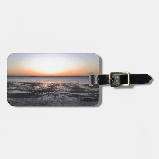 florida sun set tag for bags