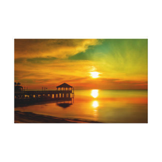 Florida Sunset At The Pier Are Stunning | Canvas |