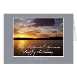 Florida Sunset Birthday Card