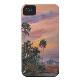 Florida Sunset Colors iPhone 4 Cover