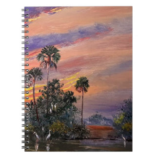 Florida Sunset Colors Notebook