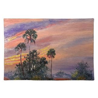Florida Sunset Colors Placemat