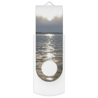 Florida Sunset Flash Drive Swivel USB 2.0 Flash Drive