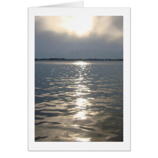Florida Sunset Note Card