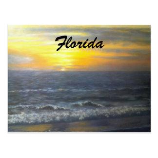 """FLORIDA SUNSET POSTCARD"" POSTCARD"