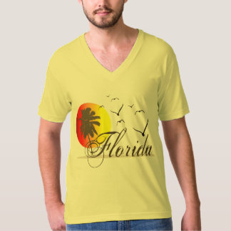 Florida Sunsets and Seagulls T-Shirt