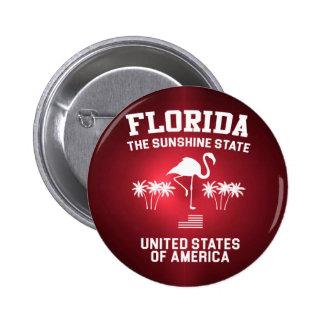 Florida The Sunshine State 2 Inch Round Button