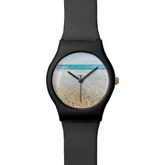 Florida Tropical Beach Sand Ocean Waves Sea Shells Wristwatches