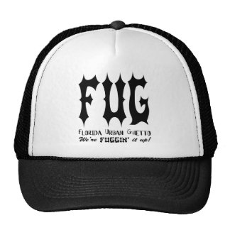 Florida Urban Ghetto Trucker Hat
