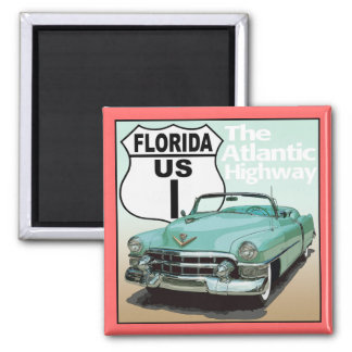 Florida US Route 1 - The Atlantic Highway Magnet