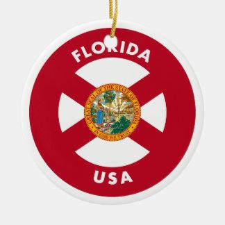 Florida USA Ceramic Ornament
