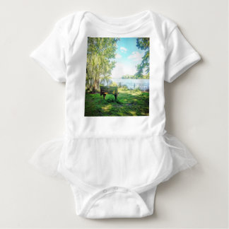 Florida Views Baby Bodysuit