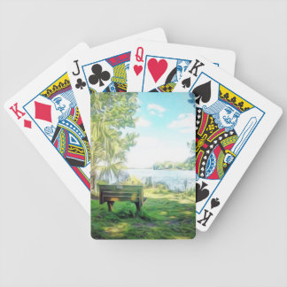 Florida Views Bicycle Playing Cards