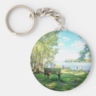 Florida Views Keychain