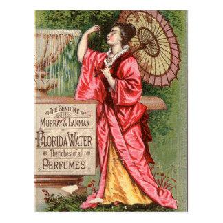 Florida Water Perfume 1881 Advertisement Postcard