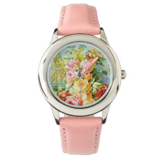 Florida Water Perfume with Cabbage Roses Watch