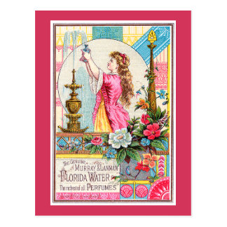 Florida Water Perfumes Postcard