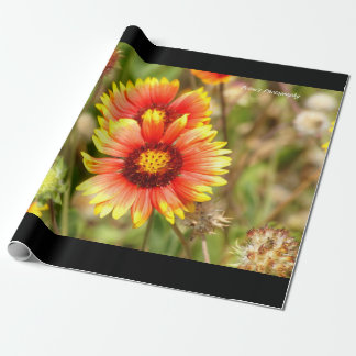 Florida Wildflower Wrapping Paper