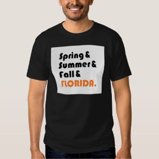 Florida Winter T-shirts